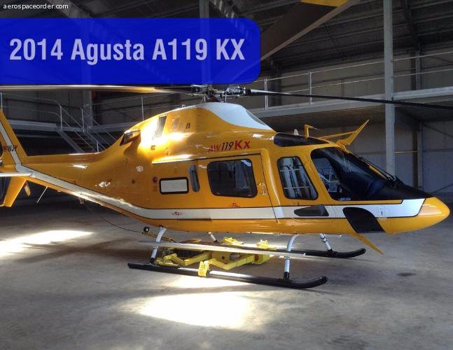 Agusta AW119 KX 2014 YOM. New.