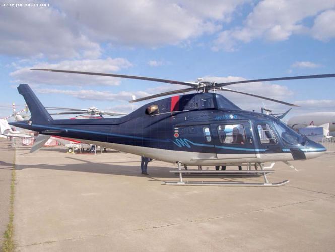 Agusta AW119Ke Темно-синий ресурсный в РФ