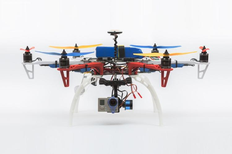 Гексакоптер DJI 550