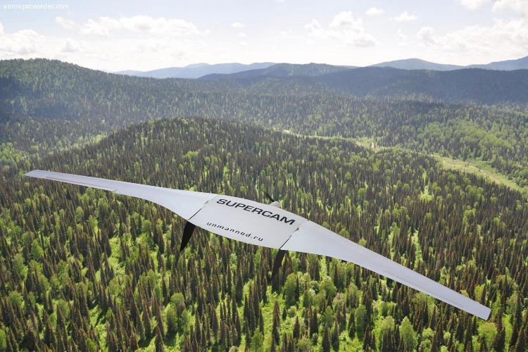 Supercam S350 Беспилотный авиационный комплекс